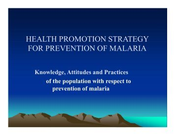 Global Technical Strategy for Malaria 2016-2030