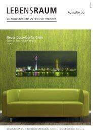 LEBENSRAUM Ausgabe 09 Neues Düsseldorfer ... - Thomas Sommer