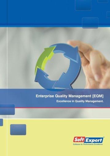 Enterprise Quality Management [EQM] - SoftExpert Software