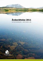 Verksamhetsberättelse patientnämnden 2011 - jll.se