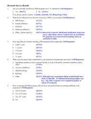 Deloitte Doctoral Student Survey