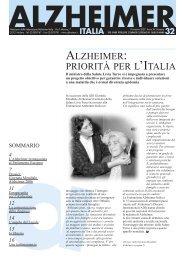 Notiziario 32 - Alzheimer Italia