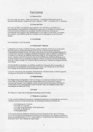 Unsere Satzung - Bürger für Hallenberg
