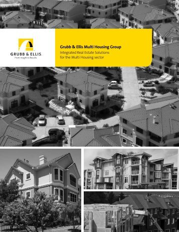 Multi Housing Brochure - Grubb & Ellis