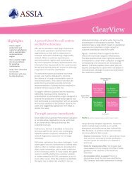 ClearView Brief - ASSIA Inc.