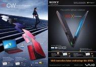 VAIO innovation takes centrestage this SITEX. - Sony Singapore