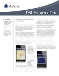 Expresse Pro Product Brief - ASSIA Inc.