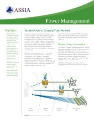 Power Management - ASSIA Inc.