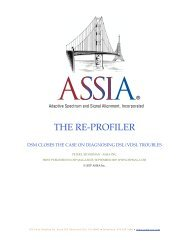 Re-Profiler - OSP MAG - ASSIA Inc.