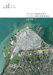 JAHRES BERICHT JAHRES RECHNUNG - Stadt Arbon