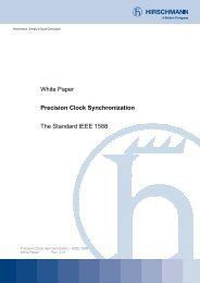 White Paper Precision Clock Synchronization The Standard IEEE ...