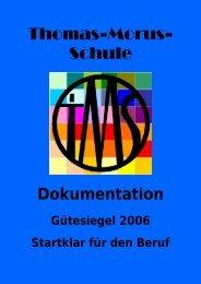 5. Materialien zur Dokumentation - Thomas-Morus-Schule Osnabrück