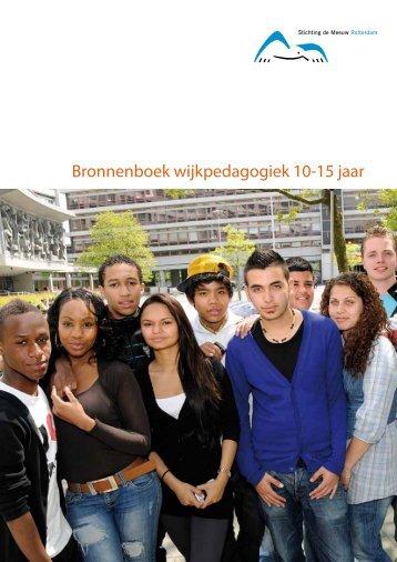 Bronnenboek wijkpedagogiek 10-15 jaar - Stichting de Meeuw