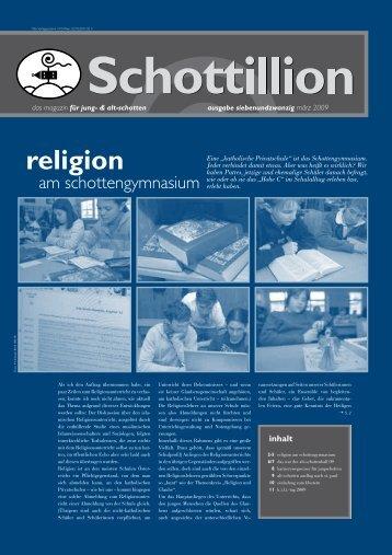 Schottillion Ausgabe Nr. 27 - Alt-Schotten