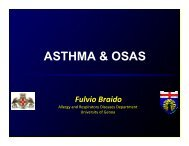 Asthma & OSA- Braido - World Allergy Organization