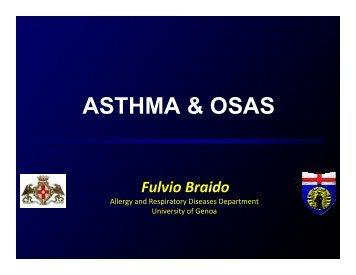 Asthma & OSA- Braido - World Allergy Organization