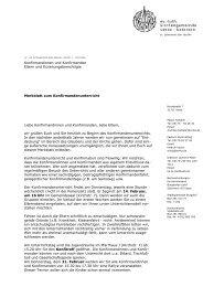 MERKBLATT 2013-2014 - Ev. luth. Kirchengemeinde Uetze