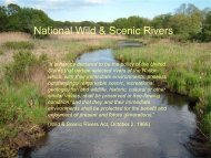 National Wild & Scenic Rivers - Rhode Island Land and Water ...