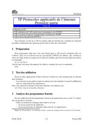 Sujet du TP - La Recherche - ENAC