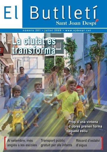 butlleti 201.pdf - Ajuntament de Sant Joan Despí