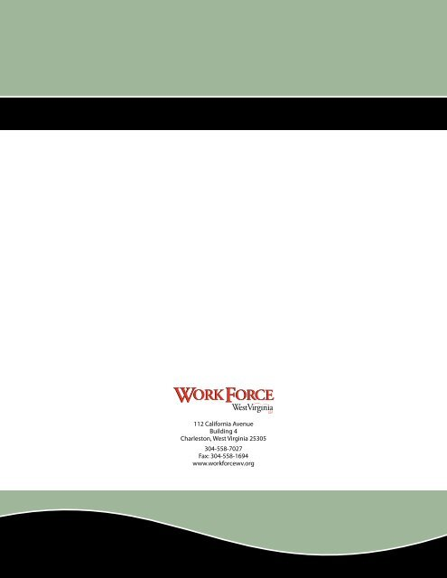 service provider directory - West Virginia Department of Commerce