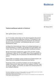 28. Februar 2013 Festbrennstoffkessel weiterhin im Sortiment Sehr ...