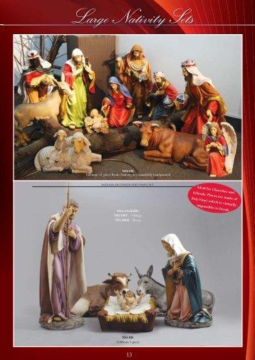 Large Nativity Sets ativity Sets - Christian Supplies