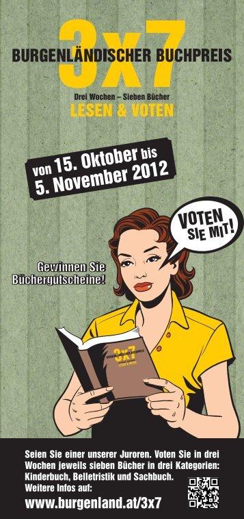 ! 15. Oktober 5. November 2012 - Kreativwirtschaft
