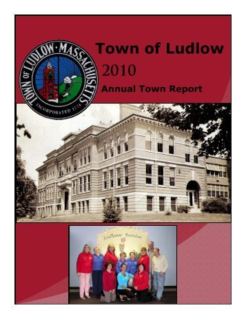 2010 Town Report - Town of Ludlow