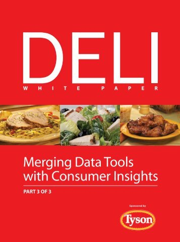 Merging Data Tools with Consumer Insights - Perishables Group