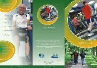 Active for Life Leaflet -  the Directorate of Public Health