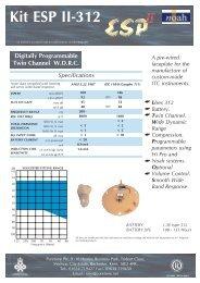 ESP & ESPII Kit Series.qxp - Puretone