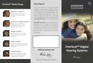 TrimTechMX Digital Hearing Systems - Puretone