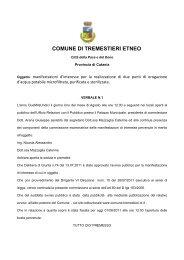 verbale n.1 - Comune di Tremestieri Etneo