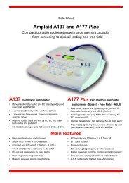 Amplaid A137 and A177 Plus - Puretone