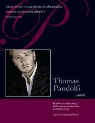 pandolfi catalog:Layout 2 - Thomas Pandolfi
