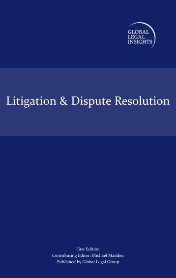 Litigation & Dispute Resolution - Appleby