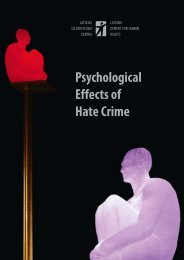 Psychological Effects of Hate Crime – Individual ... - Academos