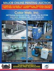 Color Web, Inc. - Thomas Industries