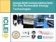 On-Site Renewable Energy Technologies Presentation - ICLEI Local ...