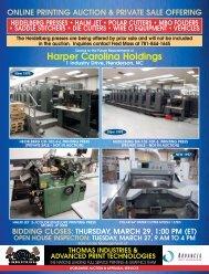 Harper Carolina Holdings - Thomas Industries