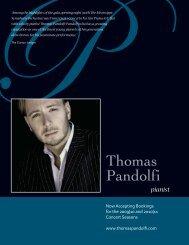pandolfi concerto booklet:pandolfi concerto booklet - Thomas Pandolfi