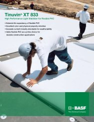 Tinuvin® XT 833 - Pharos Project