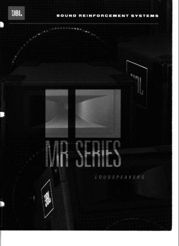 MR Series - JBL Professional