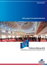 Politische Bildung 2012 - 2.Neujahrstagung - DGB-Bildungswerk ...