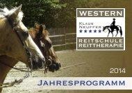 Jahresprogramm Westernreiten 2014 zum Anschauen oder ...