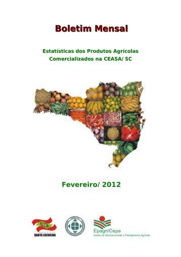 Boletim mensal Fevereiro 2012 - Revisao[1] - Cepa