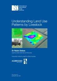 Understanding Land Use Patterns by Livestock - International ...