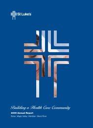 Building a Health Care Community - St. Luke's