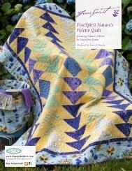 FreeSpirit Nature's Palette Quilt - Westminster Fibers, Inc
